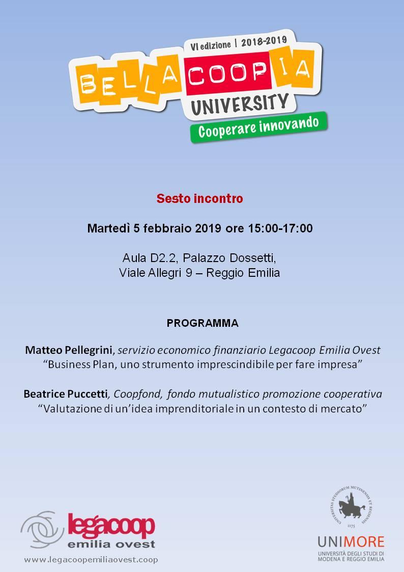 University-sesto incontro 05_02_2019
