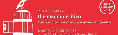 SOCIAL COHESION DAYS E IL CONSUMO CRITICO: SE NE PARLA IL 10 GIUGNO