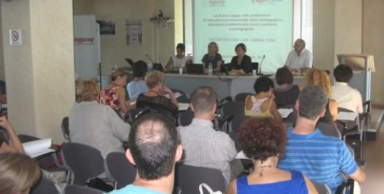 LEGACOOP ESPRIME SODDISFAZIONE PER LA NUOVA NORMATIVA SULL'EDUCATORE PROFESSIONALE